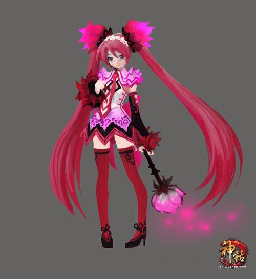美少女人形宠物――玫瑰精灵