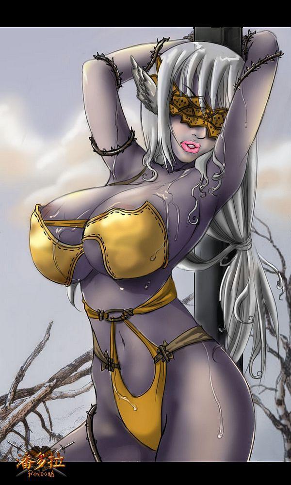 美女漫画家手绘《潘多拉》邪恶成人同人漫 爱