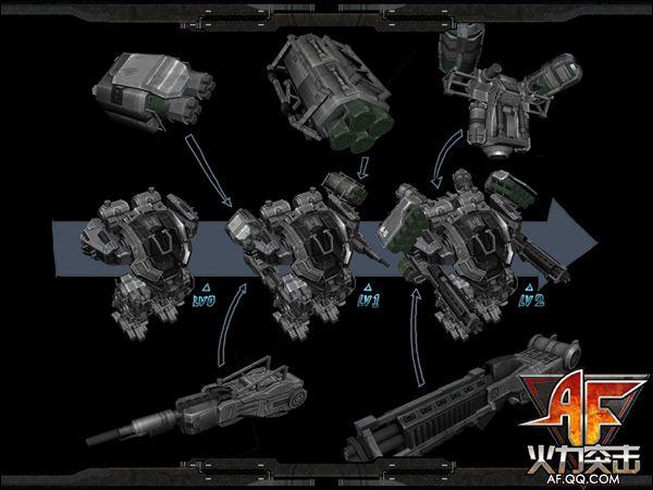 近日,一组《火力突击》机甲设计图曝光,再度引发玩家对机甲模式的期待