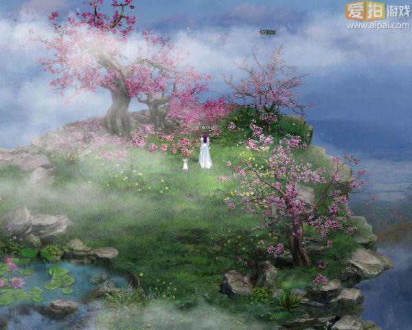 全屏风景桌面壁纸桃花