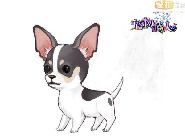 q萌简单动物画