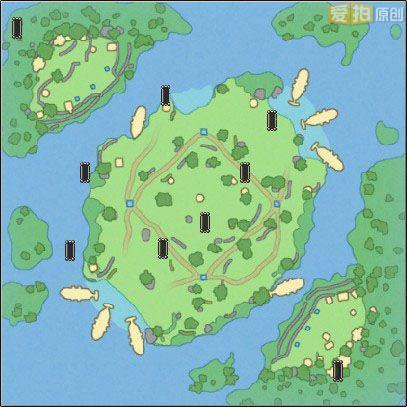 海岛水晶争夺战地图