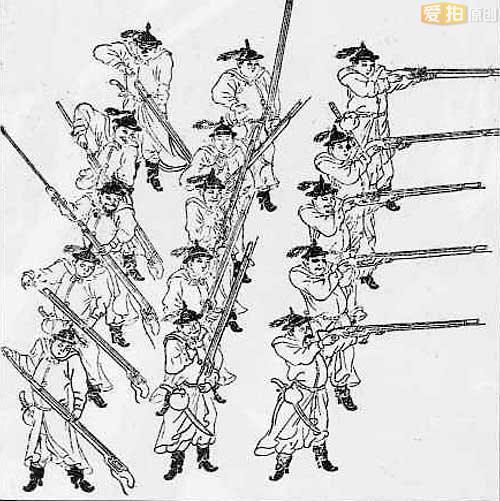 手绘蒙古美人图片