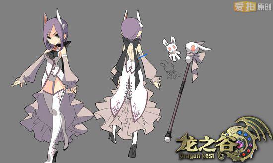 《龙之谷》玩家设计春装植入游戏