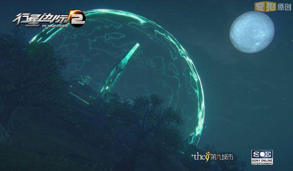 星星月亮真实图片