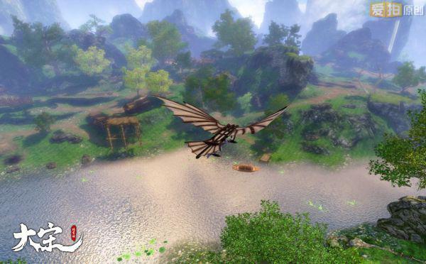 《大宋》以史为鉴,将木鸢曾用于军事的史实搬到了游戏之中,为玩家开辟了空中战场。如此一来,战场局势再添变数。你可以趁着月黑风高,驾着木鸢偷偷潜入敌军后方,切断兵线、扼其补给,来一场漂亮的奇袭;在攻守城池的重要战事中,你也能利用木鸢飞入城市一隅,扰乱敌军后方、刺探重要军情,甚至为友军做内应,让你过一把大内密探的瘾!        由此可见,相比武侠类网游千篇一律的国战、城战系统,《大宋》战场规模将更加恢弘,战场策略也将更为多元化。乱石穿空,箭如雨下,雷鼓阵阵,万人鏖战!从来没有一款网游能够