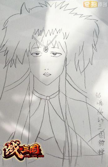 艺术宅临摹知名画风为貂蝉女神创作的手绘