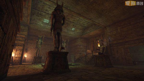 灰暗的外景将金字塔,古建筑变得更加神秘,残破的寝陵,生猛的木乃伊